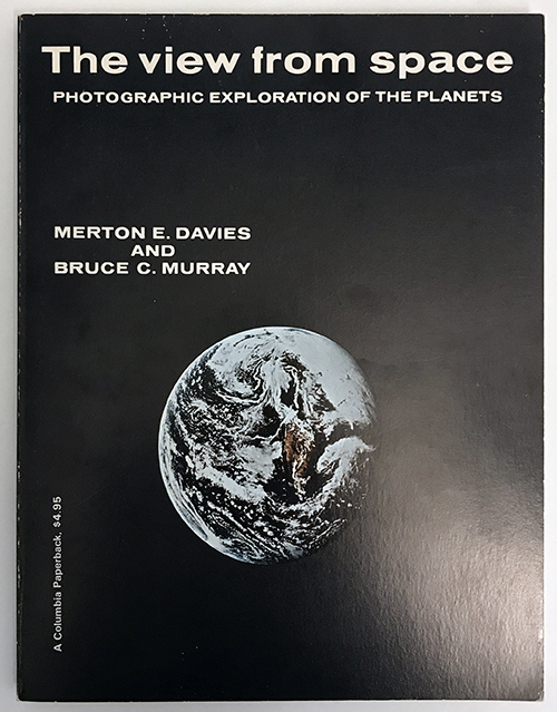 RAND publication on the photographic exploration of the planets by Merton Davies, 1971. Photo courtesy of the RAND Archives