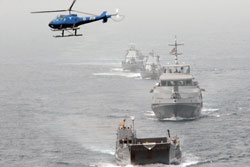 maritime training in the Gulf of Guinea