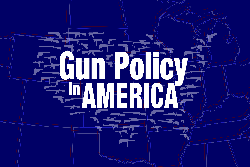 RAND Gun Policy in America logo, image by Chara Williams/RAND Corporation