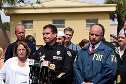 News conference after the attack at Pulse nightclub