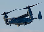 A CV-22B Osprey operated by the 7th Special Operations Squadron from Royal Air Force Mildenhall, England