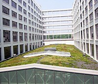 The Montgomery Park Business Center in Baltimore, Maryland featuring green roof technology, photo courtesy of www.nrel.gov