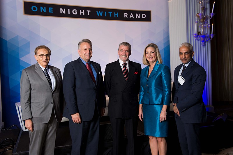 RAND's Michael Rich, Jack Riley, Brian Michael Jenkins, Christine Wormuth, and Javed Ali
