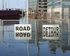 flooded road detour