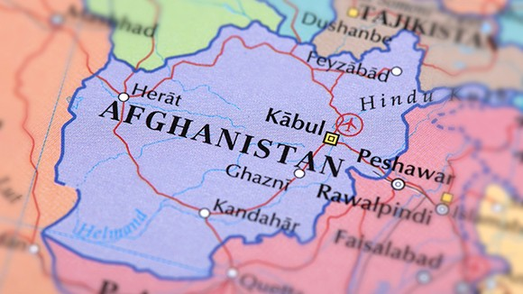 Map of Afghanistan, photo by omersukrugoksu/Getty Images