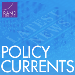 RAND Policy Currents ad with radio microphone in background