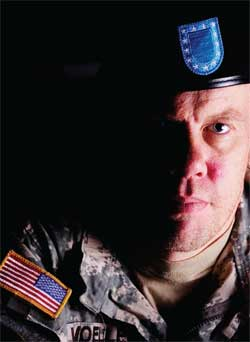 Christopher Voeller says he now battles with post-traumatic stress disorder.
