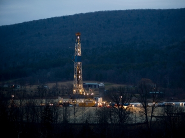 natural gas drilling in Dimock, PA