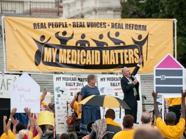 """My Medicaid Matters"" rally on Capitol Hill"