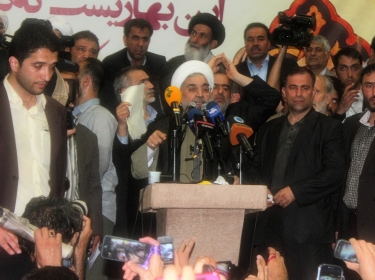 hassan-rouhani-giving-speech