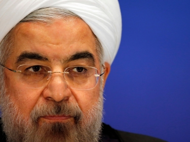 Iran's President Hassan Rouhani attends a news conference after the fourth Conference on Interaction and Confidence Building Measures in Asia (CICA) summit, in Shanghai May 22, 2014