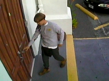 A still from footage of Dylann Roof, who was convicted of killing nine people at a historically black church in South Carolina