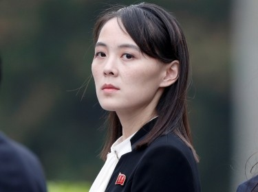 Kim Yo Jong, sister of North Korea's leader Kim Jong Un attends wreath laying ceremony at Ho Chi Minh Mausoleum in Hanoi, Vietnam, March 2, 2019, photo by Jorge Silva/Reuters