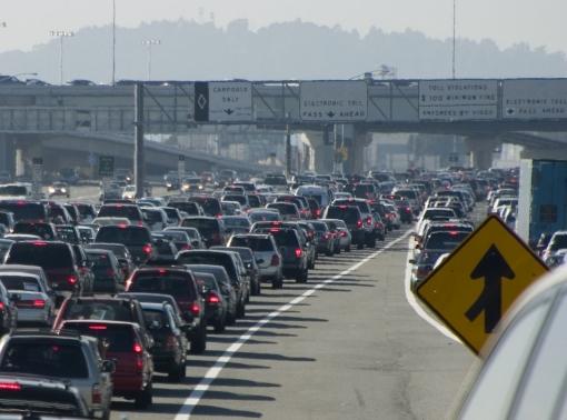 Major traffic jam