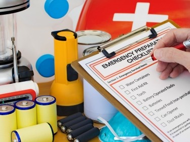 Emergency supplies and checklist