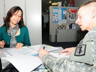 appointment with Army Career and Alumni Program counselor