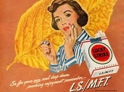 Lucky Strike ad from 1948