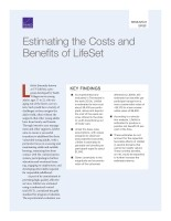 Estimating the Costs and Benefits of LifeSet