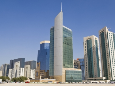 Doha financial district