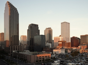 New Orleans city skyline