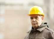 Older construction worker